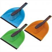 York műanyag lapát gumis éllel + kefe - 306204