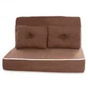 Puff Multiuso 3 em 1 Puff Sofá ou Colchonete com Travesseiro