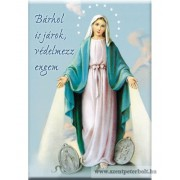 Hűtőmágnes Szűz Mária