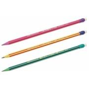 Creion grafit cu radiera Evolution Stripes 646 Bic
