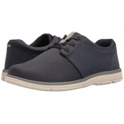 Nunn Bush Zephyr Three Eye Plain Toe Lace-Up Navy