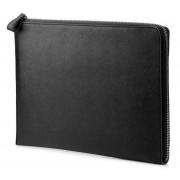 "HP Elite Leather Sleeve - Protector para notebook - 13.3"" - preto - para Chromebook 11 G6, EliteBook 830 G5, EliteBook x360 102"
