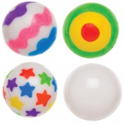 Baker Ross Design Your Own Light-up Bouncy Balls (Pack of 4)