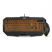 Krom Kodex Pack Gaming Teclado Retroiluminado + Rato Óptico 3000DPI