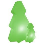 Slide Lampadaire Lightree Outdoor / H 100 cm - Pour l'extérieur - Slide vert en matière plastique