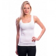 Ten Cate Women Basic Singlet (30197) White (two pack) - Wit - Size: Small