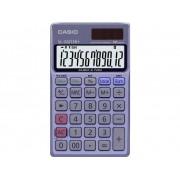 Casio Miniräknare Casio SL-320TER+ Blå Display (ställen): 12 solcell, batteri (BxHxD) 70 x 8 x 118.5 mm