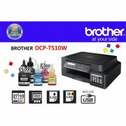 Multifuncional Brother DCP-T510W Wifi C/ Tinta Continua Original