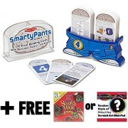 4th Grade Smarty Pants Card Game Set + FREE Melissa & Doug Scratch Art Mini-Pad Bundle [50753]