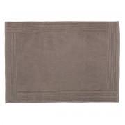 Olivier Desforges - Tapis de bain Coton Peigné 730 g/m² Taupe 50 x 70 cm - ALIZEE