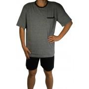 Vito pyžamo s krátkým rukávem AK8355-0 XXL tmavě šedá