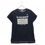 【SALE 31%OFF】ルコックスポルティフ le coq sportif レディース 半袖機能Tシャツ 半袖シャツ QMWMJA00 (ネイビー) レディース