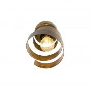 QAZQA Vintage plafondlamp roest - Curl
