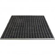 Vuilopvangsysteem van aluminium, rubberen inzetstuk
