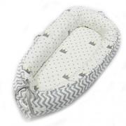 Teapots 100% Baby Lounger Tumbona De Algodón Transpirable Suave para Recién Nacidos Perfecto para Dormir De 0 A 12 Meses Cama De Cama Neonatal Portátil Extraíble Y Lavable