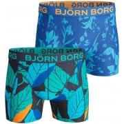 Björn Borg Shorts Peacoat 2er-Pack - Blau M
