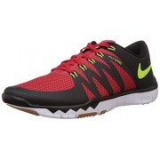 Nike Men's Free Trainer 5.0 V6 University Red,Volt,Black,Cool Grey,White,Gum Med Brown Outdoor Multisport Training Shoes -7 UK/India (41 EU)(8 US)