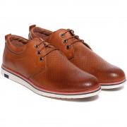 Pantofi barbati Andres cu perforatii, Maro 42