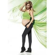 Bas Bleu Těhotenské legíny Veronica - Bas Bleu černá M
