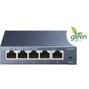 TP-LINK Switch TL-SG105 Unmanaged, Desktop, 1 Gbps (RJ-45) pordiga quantity 5