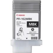 CANON PFI-102 Pigment Ink Tank Matte Black for iPF500, iPF600, iPF700 (CF0894B001AA)