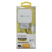 Зарядно за 220V 3A/5V и кабел Micro USB 2A/9V 'Qualcomm'