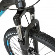Bicicleta MTB-HT 26 Carpat FSD C2681B cadru aluminiu negrualbastru
