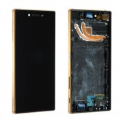 Ecran Complet Lcd + Chassis Pour Sony Xperia Z5 Premium E6853 Gold