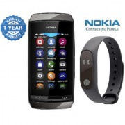 Nokia Asha 310 (1 year Warranty Bazaar Warranty) with Smart Bracelet