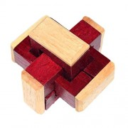 E 3D Wooden Magic Cube Puzzles Mumustar Square Blocks Twist Toy Iq Brain Teas