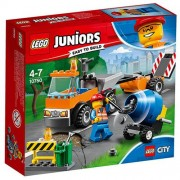 Set de constructie LEGO Juniors Camion pentru Reparatii