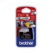 Brother MK231BZ folytonos laminált szalag, 12mm, 8m