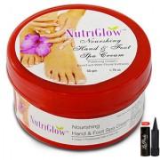 Nutriglow Nourshing Hand Foot Spa Cream Polishing Cream (Pack Of 1)