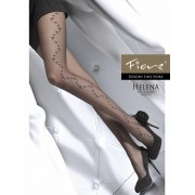 Fiore - Flower pattern tights Helena 20 DEN
