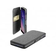 Cellular Line Flip Cover Cellularline BOOKCLUGALA6PL18K Passar till modell: Samsung Galaxy A6+ (2018) Svart