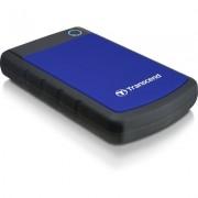 Портативен външен диск Transcend StoreJet 25H3 2TB, Navy Blue