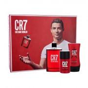 Cristiano Ronaldo CR7 confezione regalo eau de toilette 100 ml + deostick 75 ml + balsamo dopobarba 100 ml uomo