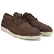 Clarks Fayeman Lace Beeswax Casual For Men(Brown)