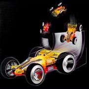 RC Távirányítós kétoldalas Stunt autó - Sided Racing No.2308