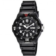 Casio Enticer Analog Black Dial Mens Watch - MRW-200H-1BVDF (A595)
