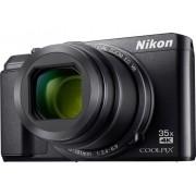 Nikon A-900 Digitale camera 20 Mpix Zoom optisch: 35 x Zwart WiFi, Klapbaar display