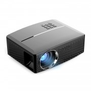 GP80 LED Projector Full HD 1080P Projector Home Media Player Mini Cinema Theater - EU Plug