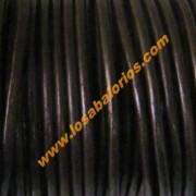 Cuero 2,5 mm color marron chocolate( precio por 50 cm)