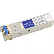 AddOn DELL Comp TAA SFP 1G-Bx 10km Smf LC Xcvr 10GHz 1MB L2 Caja procesador