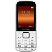 """GSM, Prestigio Wize G1, 2.4"""", Dual SIM, White (PFP1243DUOWHITE)"""