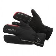Craft Bike Thermal Split Finger Glove Unisex Gloves Black/Bright Red 1901624