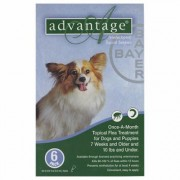 Advantage Small Dogs/ Pups 1-10lbs (Green) 4 Doses