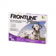 Frontline Plus Large Dogs 45-88 lbs (Purple) 06 Doses