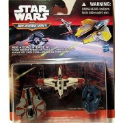 Star Wars Micromachines CLONE FIGHTER STRIKE -Arc-170 Fighter Obi-Wan Kenobi's Jedi Interceptor Droid Tri-Fighter by Micro Machines