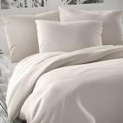 Lenjerie de pat din satin Luxury Collection, alb, 140 x 220 cm, 70 x 90 cm, 140 x 220 cm, 70 x 90 cm